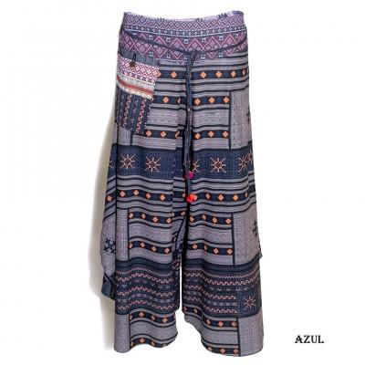 Pantalon ancho etnico TRTH1818