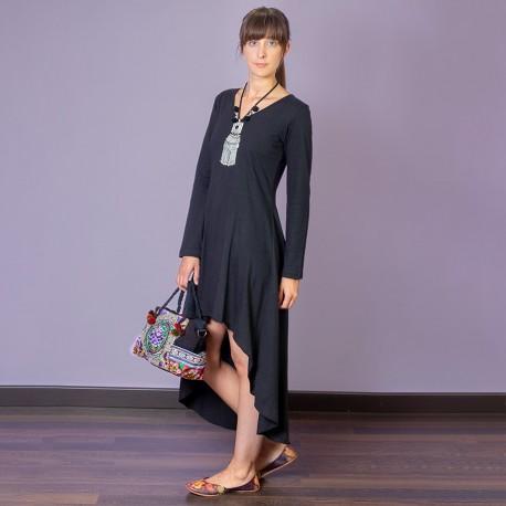 Vestido asimetrico DRNE1816
