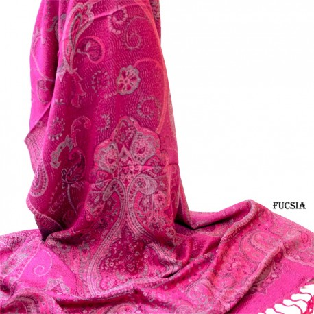 Pashmina cachemir SCF153