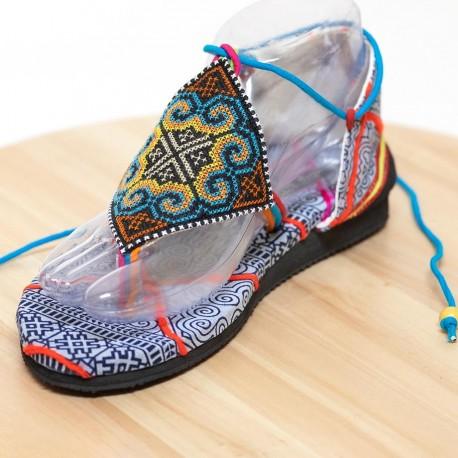 Sandalia hippie Hmong