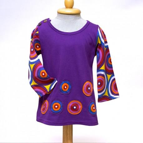 Vestido hippie niñas KDNE1824