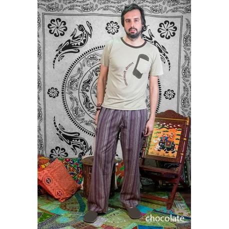 Pantalon hippie rayas TRM1805