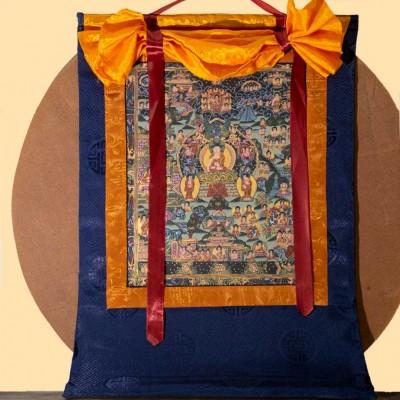 Thangka vida Buddha Shakyamuni THK13