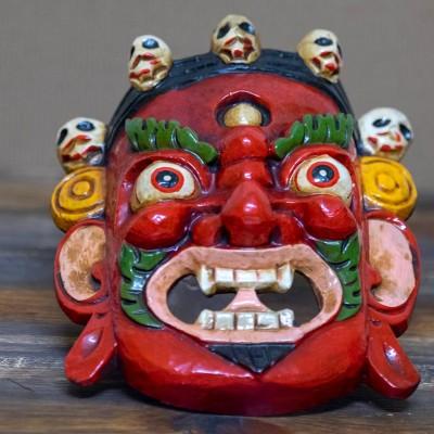 Mascara Tibetana de Mahakala