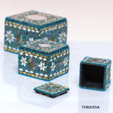 Conjunto cajas etnicas BX27IN