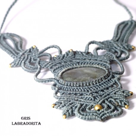 Collar Tribal Macrame CL146IN