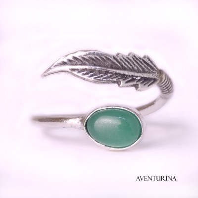 Anillo hoja AN136IN