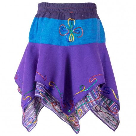 Falda hippie niñas KDNE1904