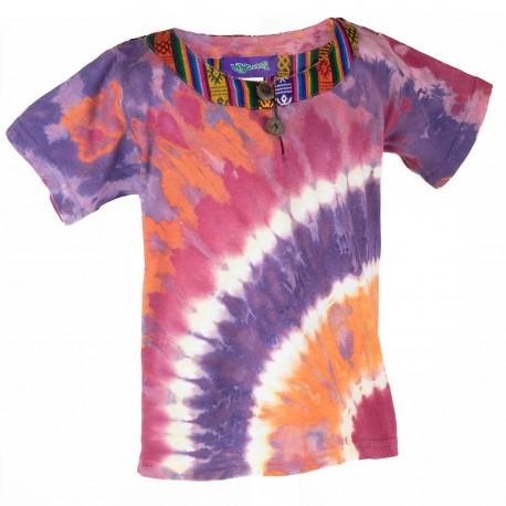 Camiseta Tye-Dye infantil KDNE1905