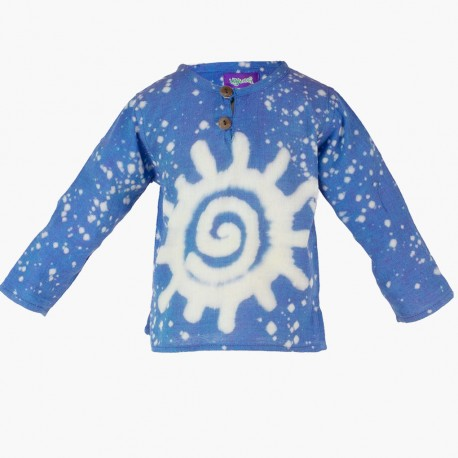 Camisa hippie niños KDNE1909