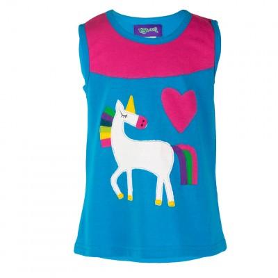 Vestido Unicornio niñas KDNE1908