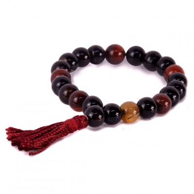 Mala pulsera mix cornalina AM54PU