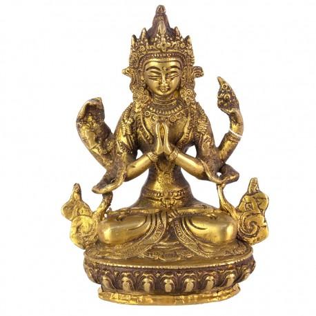 Estatua bronce Tara