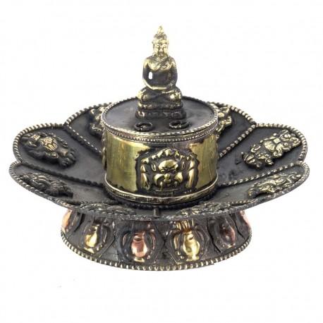 Inciensario tibetano cobre IN55NE