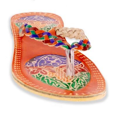 Pañuelo artesanal liso 121