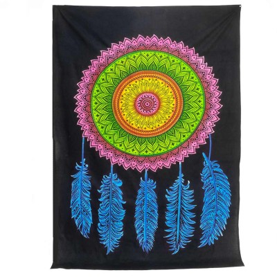 Colcha tapiz atrapasueños