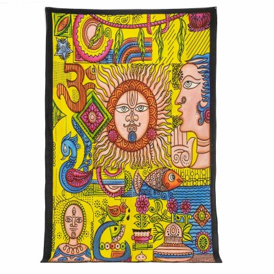Colcha Sol hippie