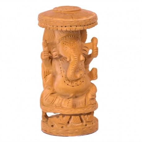 Figura Ganesh madera RST35